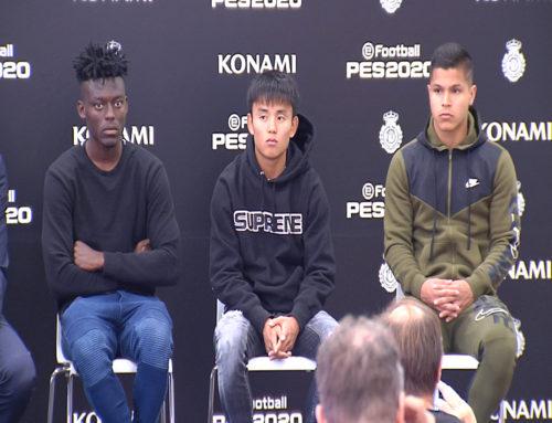 Presentación del nuevo patrocinador del Mallorca: Konami + video